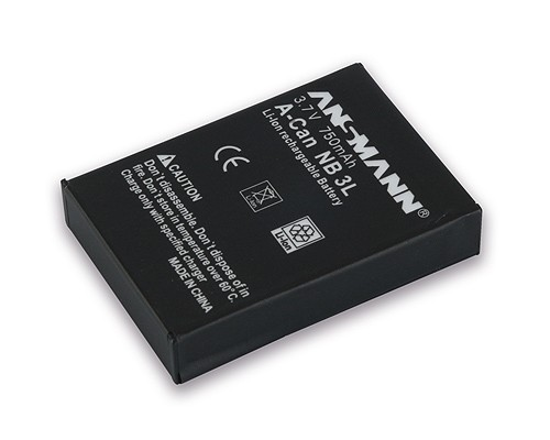 Baterija za Canon NB 3 L Li-Ion - ANSMANN
