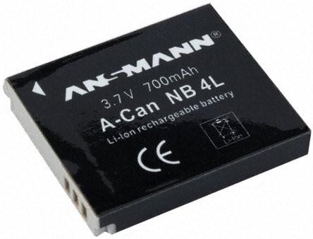 Baterija za Canon NB 4 L Li-Ion - ANSMANN