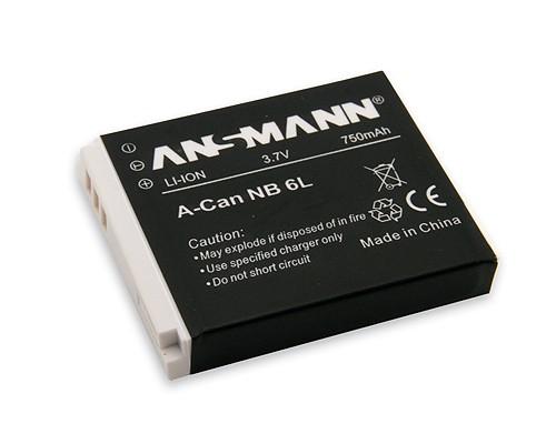 Baterija za Canon NB 6 L Li-Ion - ANSMANN