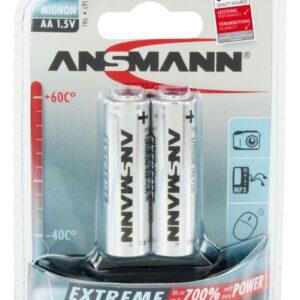 Litijska baterija AA 1,5V LR06 Ansmann
