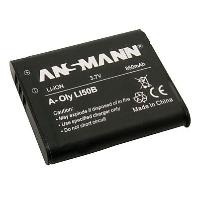 Baterija za Olympus fotoaparate LI 50 B Li-Ion - ANSMANN