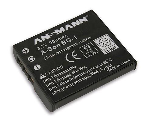 Baterija Li-Ion Sony NP BG1 - ANSMANN - A-Son NP BG1zamjenska baterija zaSony: