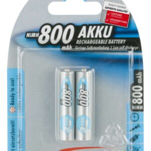 Punjive NiMh Max-E BLUE baterije AAA LR3 800mAh (2 kom.) - Ansmann