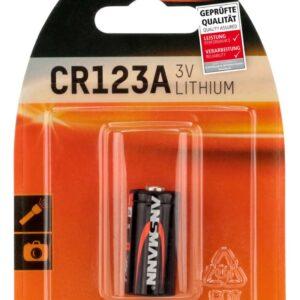 Litijska baterija CR 123A 3V - Ansmann