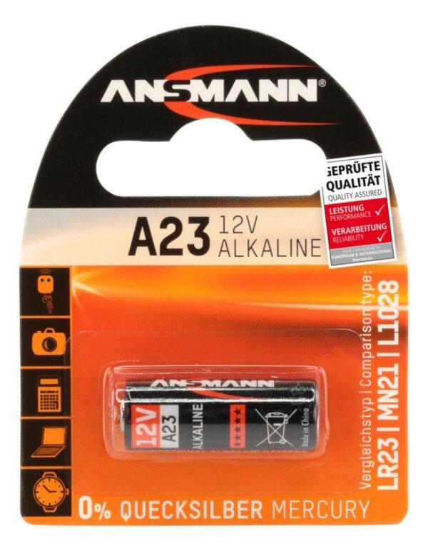 Alkalna baterija A23 12V - ANSMANN