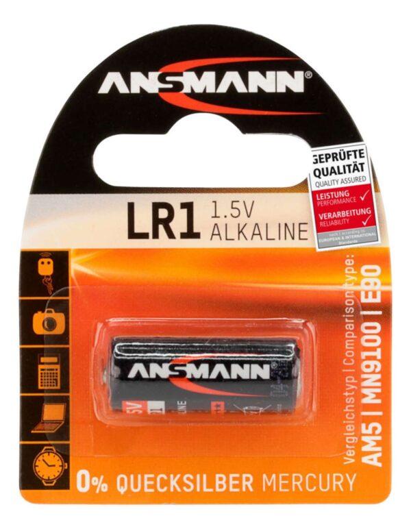 Alkalna baterija LR1 1.5 V - ANSMANN