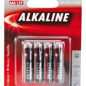 Alkalna baterija RED LR03 AAA 1.5 V (4 kom.) - Ansmann