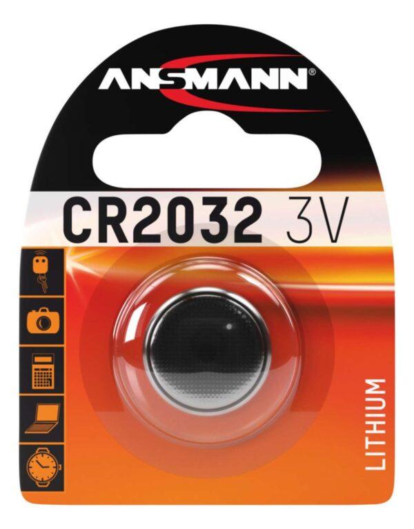 Litijska baterija CR 2032 3V - ANSMANN
