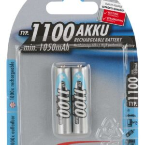 Punjive NiMh baterije LR03 AAA 1100mAh (2 kom.) - Ansmann DIGITAL 2/1