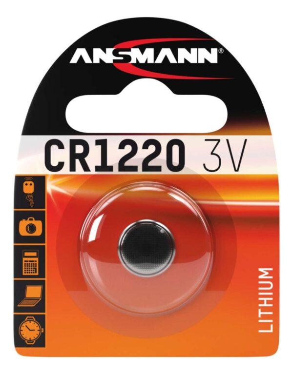 Litijska baterija CR 1220 3V - ANSMANN