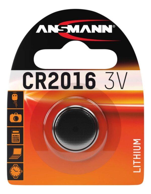 Litijska baterija CR 2016 / 3V - ANSMANN