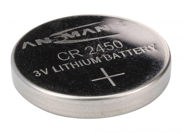 CR 2450 3V Litijska baterija - Ansmann