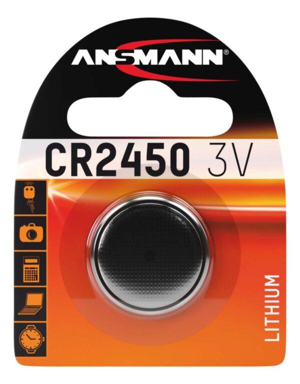 Litijska baterija CR 2450 / 3V - ANSMANN