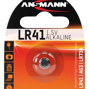 LR 41 1.5 V Alkalna baterija - Ansmann
