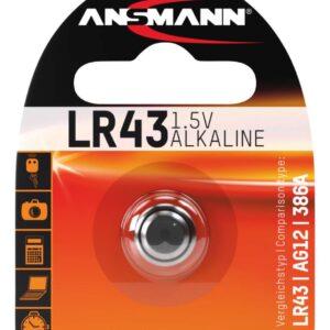LR 43 1.5 V Alkalna baterija - Ansmann