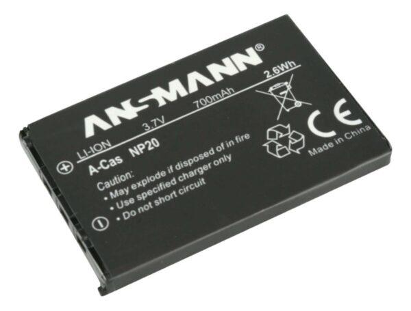 Baterija za Casio NP 20 Li-Ion - ANSMANN