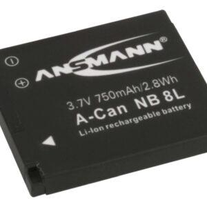Canon NB 8 L Li-Ion baterija - Ansmann