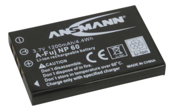 Baterija za Fuji NP 60 Li-Ion - ANSMANN