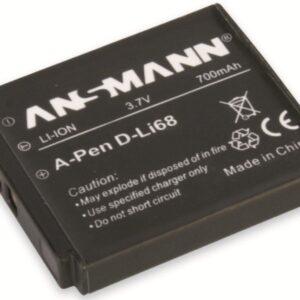 Pentax D Li 68 Li-Ion baterija - Ansmann