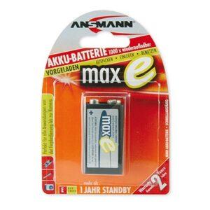 punjive NiMH baterije 9V 200MAH Ansmann MAXE PLUS