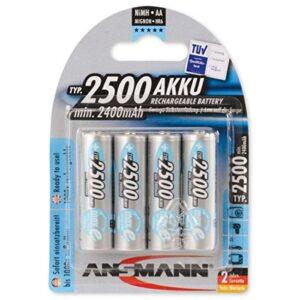 Punjive NiMH baterije AA 2500MAH Ansmann MAXE PLUS 4/1