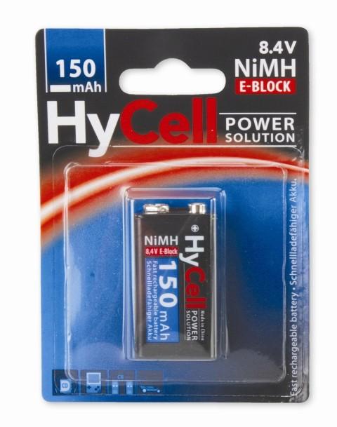 Punjive baterije BLOCK 9V 150mAh - Hycell by Ansmann