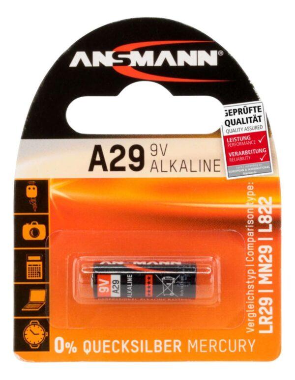 Alkalna baterija A29 9V - ANSMANN