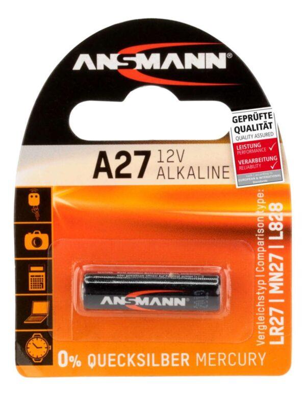 A27 12V alkalna baterija - Ansmann