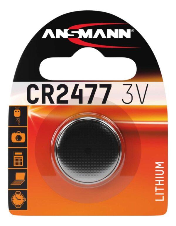 Litijska baterija CR 2477 3V - ANSMANN