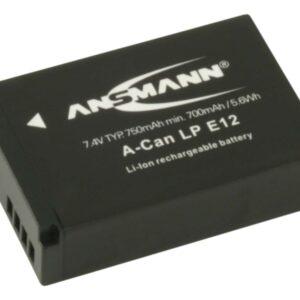 Canon LP-E12 Li-Ion baterija - Ansmann