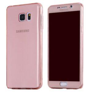 Samsung S7 Edge Silikonska zaštitna maskica Ultra-Slim 0,3 roza