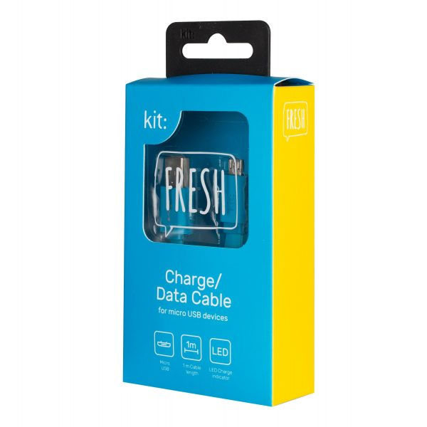 Fresh Micro USB kabel plavi
