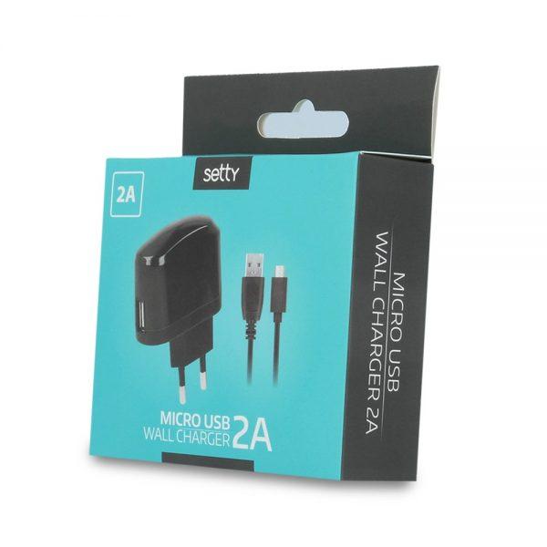 Kućni punjač Micro USB 2A - SETTY