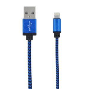 iPhone 5/6/7/8/X lightning na USB kabel - plavi - FOREVER