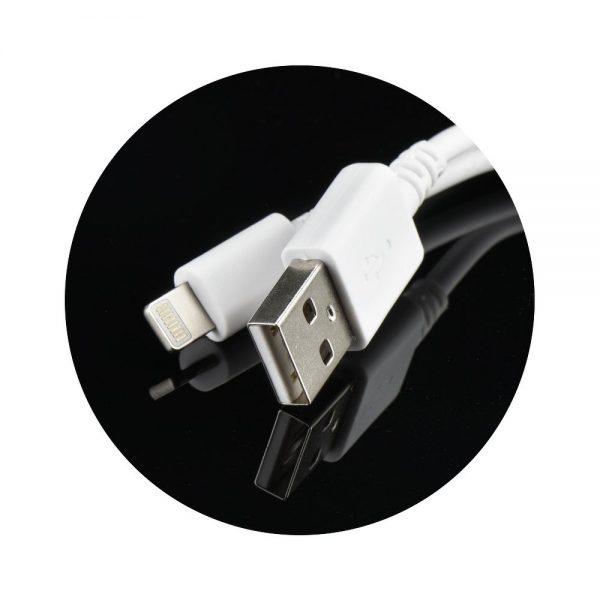 iPhone 5/6/7/8/X putni punjač 1A + lightening kabel - FORCELL