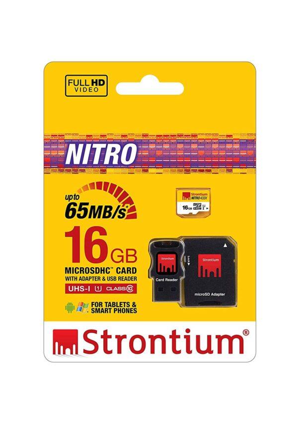 Micro SD 16GB NITRO sa adapterom - STRONTIUM