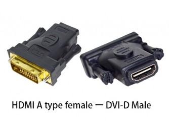 Adapter HDMI ženski na DVI-D muški - VAKOSS