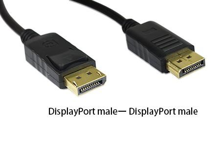 DisplayPort kabel 2 x muški (2m) - VAKOSS