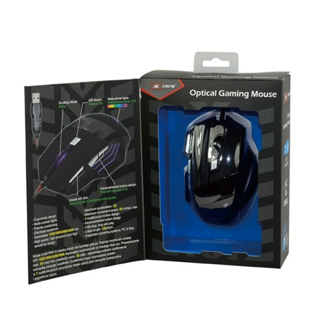 Gaming miš 3000 DPI ( crni ) - X-ZERO