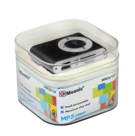 MP3 player (crni) - MSONIC