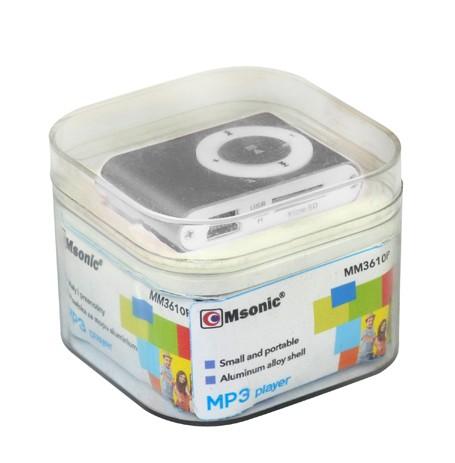 MP3 player ( srebrni ) - MSONIC