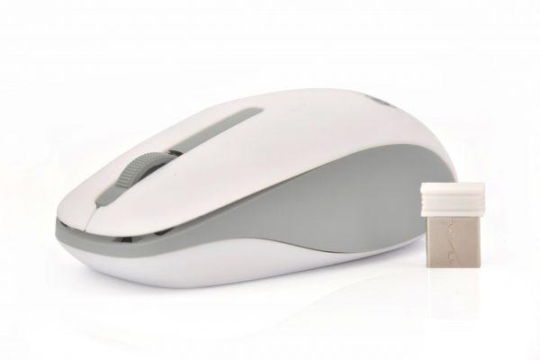Bežični miš 1000 DPI ( bijeli ) - MSONIC
