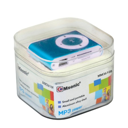 MP3 player ( plavi ) - MSONIC