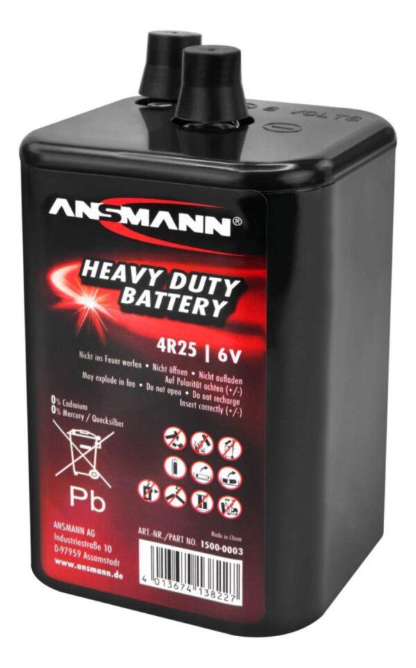 Baterija Cink-Karbon 4R25 6V - ANSMANN