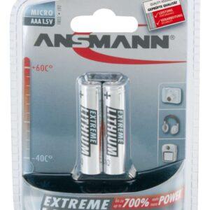 Litijska baterija AAA 1,5V LR03 Ansmann