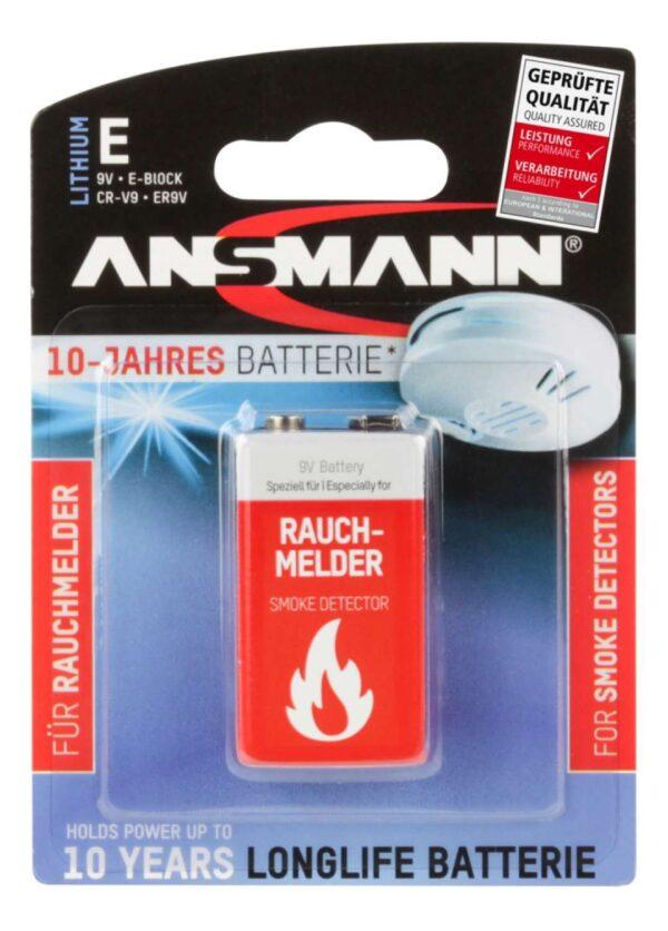 Litijska Baterija E-BLOCK 9V - ANSMANN