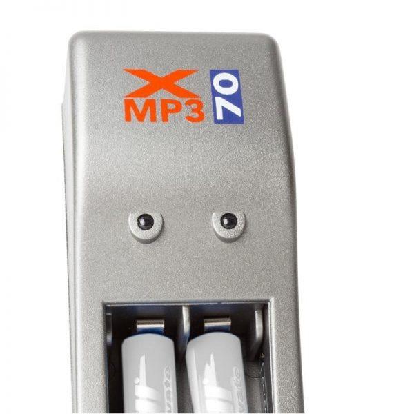 Punjač baterija X4MP3 + 2x AAA punjive baterije - Ansmann