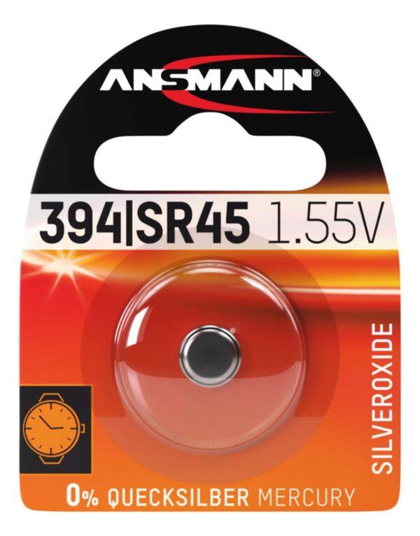 Baterija Silver Oxide SR45/SR936/394 1.55V - ANSMANN