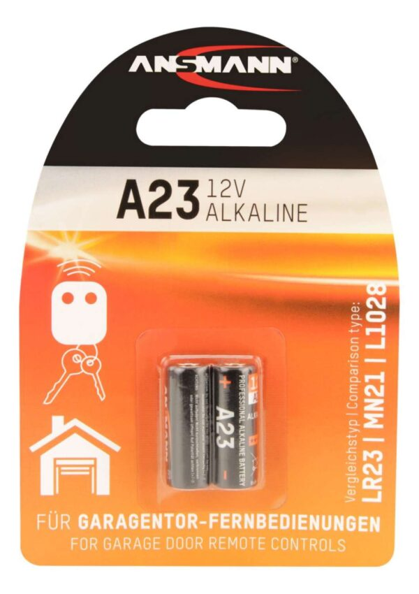 Alkalna baterija A23 12V (2 kom.) - ANSMANN