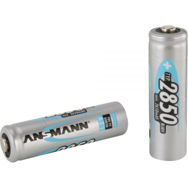 Punjive NiMH baterije BLUE AA 2850 mAh (2 kom.) - ANSMANN
